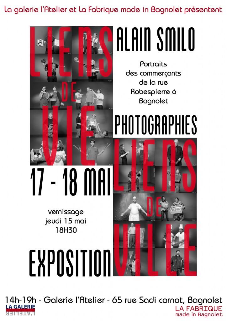 """La Fabrique expose Alain Smilo """"liens de vie, liens de ville"""" à la Galerie l'Atelier"""