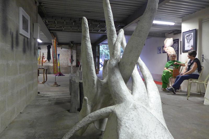 JPO ateliers d'artistes de Bagnolet : Marie-Pascale Deluen