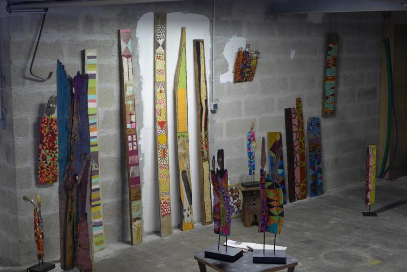 JPO ateliers d'artistes de Bagnolet : Armelle Frisa