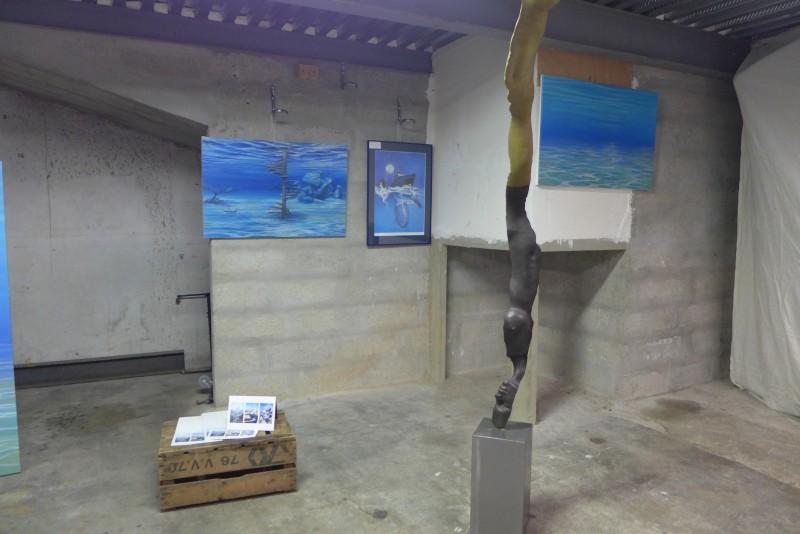 JPO ateliers d'artistes de Bagnolet : Malvina