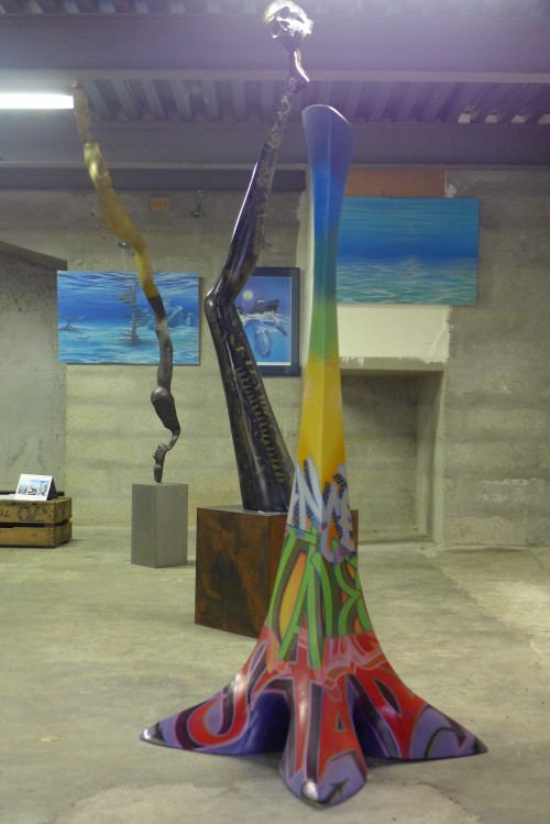 JPO ateliers d'artistes de Bagnolet : Hacene Sadoune sculpteur et Malvina