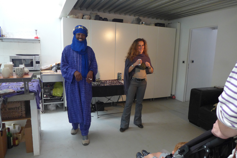 JPO ateliers d'artistes de Bagnolet : Milena Papazian céramique et Adam