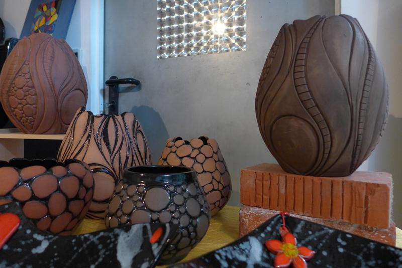 JPO ateliers d'artistes de Bagnolet : Milena Papazian céramique