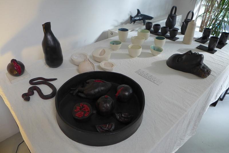 JPO ateliers d'artistes de Bagnolet : caroline wei céramique et sculpture