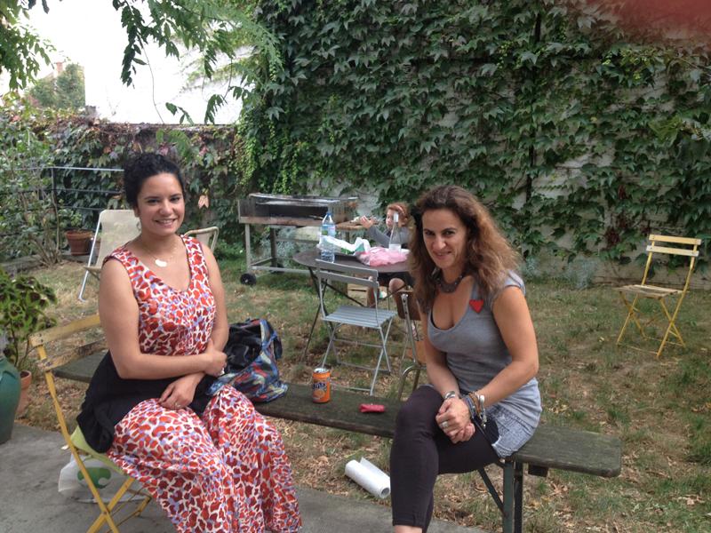 JPO ateliers d'artistes de Bagnolet : Güzel et Milena Papazian
