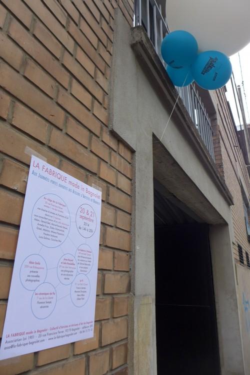 JPO ateliers d'artistes de Bagnolet : la Fabrique