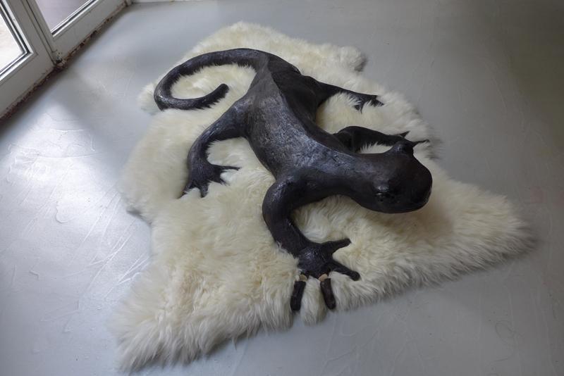 Caroline Wei céramiques Salamandre