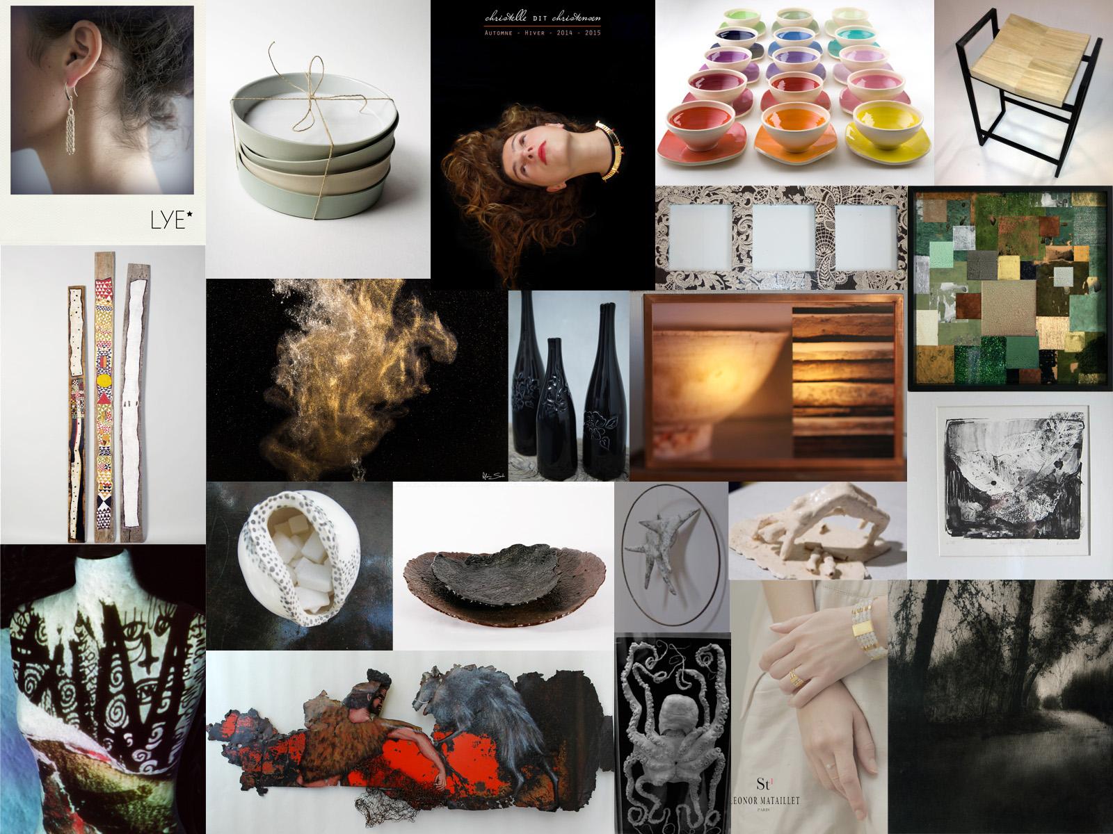 La fabrique et les métiers d'art, collectif d'artistes et artisans d'art