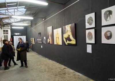 La fabrique made in Bagnolet lieu Artistique: hall d'exposition
