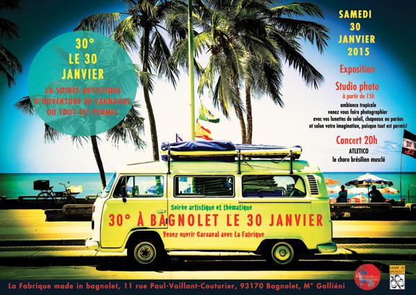 30° le 30 Janvier à Bagnolet