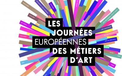 Journées Européennes des Métiers d'Art à La Fabrique les 2 et 3 avril