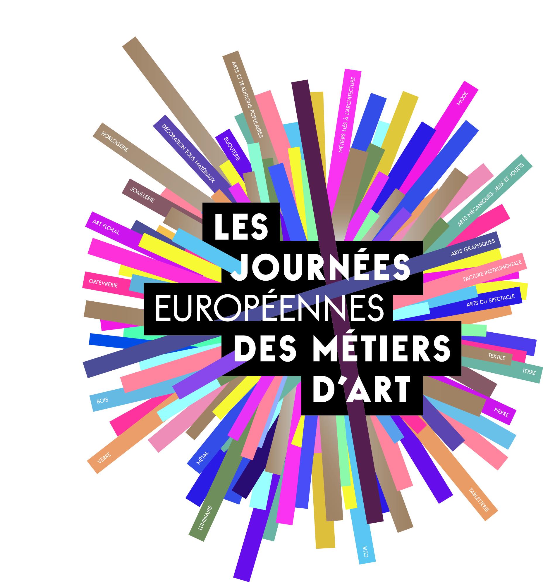 LES JOURNÉES EUROPÉENNES DES MÉTIERS D'ART 2016 les 2 et 3 avril