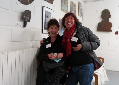 Marie-Claude Debain et Sabine Delaruelle