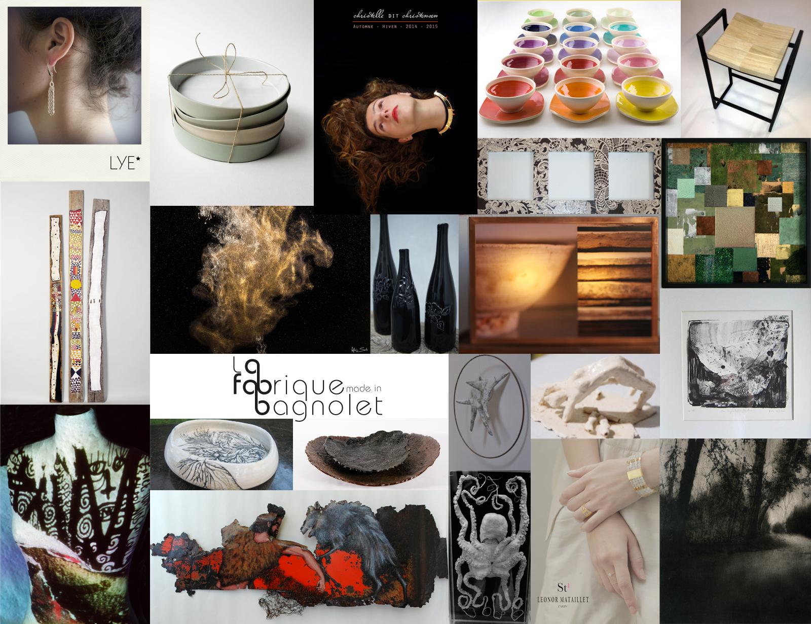 Journées Européennes des Métiers d'Art 2016 et les artisans d'art de La Fabrique made in Bagnolet