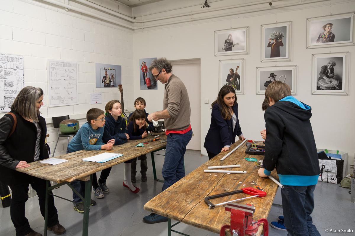 JEMA 2016 La Fabrique made in Bagnolet avec la Lutherie Urbaine