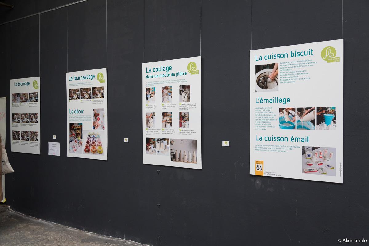"""JEMA 2016 """"Le Parcours céramique de Florence Sempé"""" La Fabrique made in Bagnolet"""
