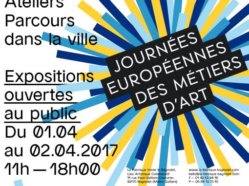 JEMA 2017 à La Fabrique made in Bagnolet